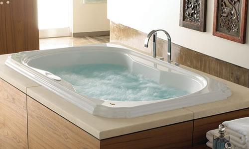 Jetted bathtub maintenance